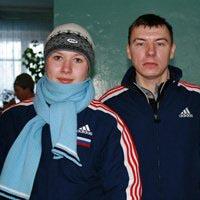 Мария Гущина со своим личным тренером Дмитрием Бугаевым