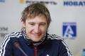 Владимир Токарев (2-е место в дуатлоне 3.04.07) на пресс-конференции