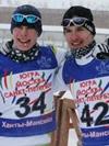 Сергей Устюгов (слева) и Денис Ефимович
