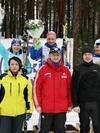 Медалистки конькового спринта
