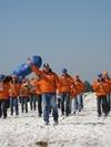 Оркестр на лыжах, единственный в мире