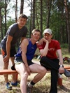 Остров 2007 на тренировке