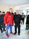 Дементьев и начальник кафедры физподготовки