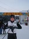 Победительница спринта среди девушек Мансурова Татьяна (Сургут)