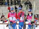 Полина Медведева (№7), Виктория Мелина (№1) и Юлия Иванова (№2)