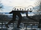 Памятник лыжнику в Холменколлене